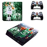 Cheap Vanknight PS4 Slim Console Dualshock Controllers Skin Set Vinyl Decal Sticker for Playstation 4 Slim Console