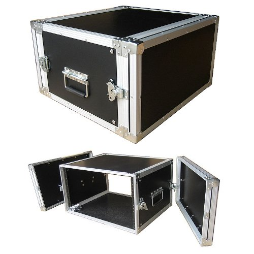 6 Space 6u 16 Inches Deep Medium Duty 1/4 Inch ATA Effects Rack Case - Closeout by Roadie Products, Inc.