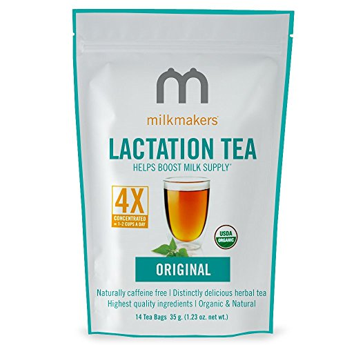Milkmakers Lactation Tea, 1.23 Ounce, Original Flavor, 14 Tea Bags by Munchkin