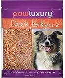 Paw Luxury Duck Jerky 2.5lbs,  No Grain, Gluten, Antibiotics or Hormones