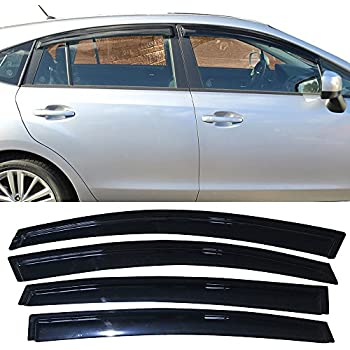 Amazon Com Window Visors Fits 2013 2017 Subaru Xv