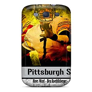 Cute Appearance Cover/tpu Nuu1749DHHd Pittsburgh Steelers Case For Galaxy S3