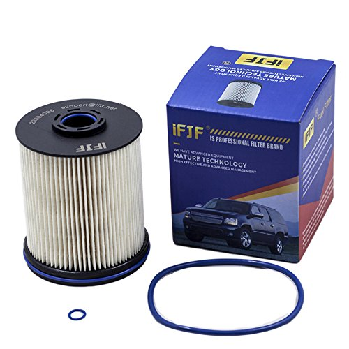iFJF TP1015 Fuel Filter for Chevrolet Cruze 2014-2018/Silverado 2500HD,3500HD 2017-2018 And GMC Sierra 2500HD/3500HD 2017-2018 (Set of 1)