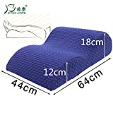 Lying leg cushion pillow - Beauty Salon SPA club decompression leg pillow - slow rebound visco-elastic memory foam shape pillow