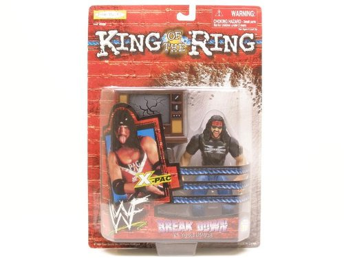 Break Down Your House Mint Jakks SG/_B001BCOD2W/_US 1999 X-Pac King of the Ring WWF