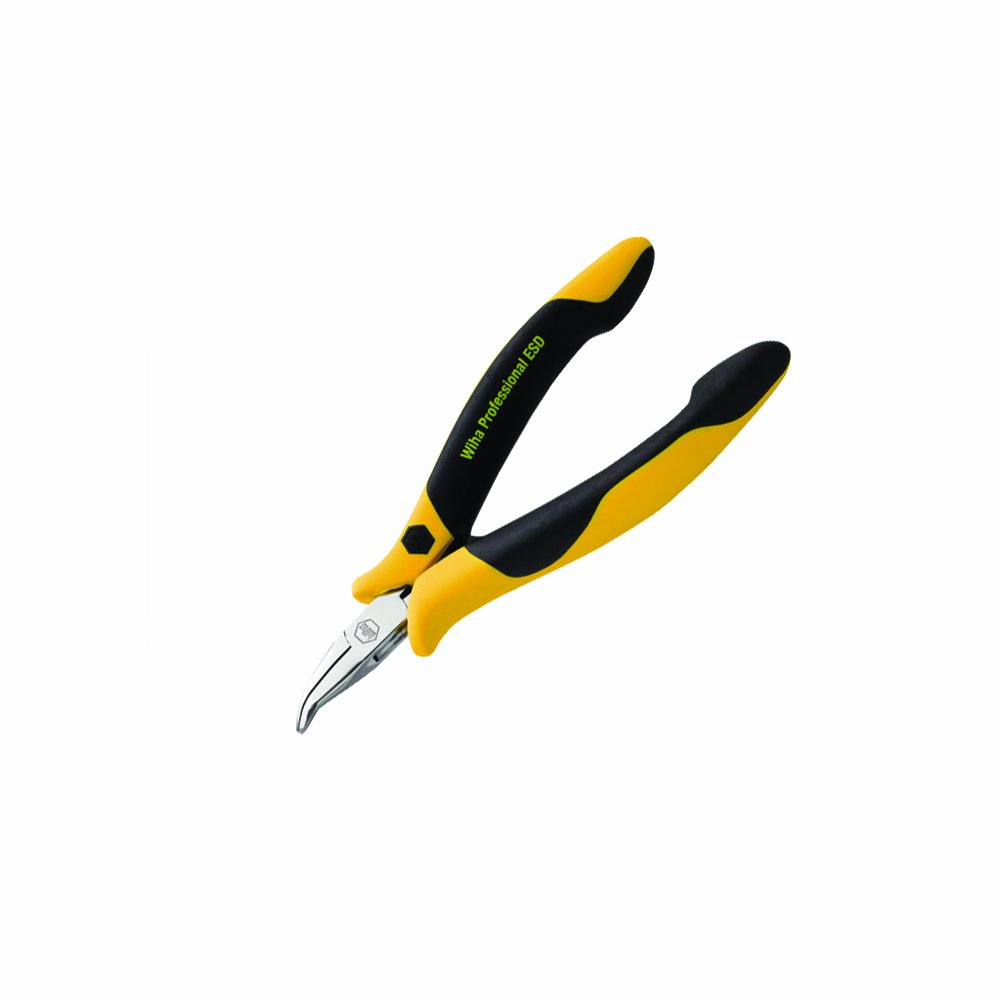 Wiha 32744 45-Degree Snipe Nose ESD Safe Pliers by Wiha