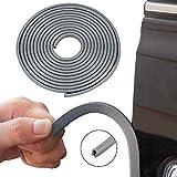 Winunite Car Door Edge Guards Grey 16Ft(5M) Universal Fit Rubber U Shape Edge Trim Car Door Edge Protection: more info