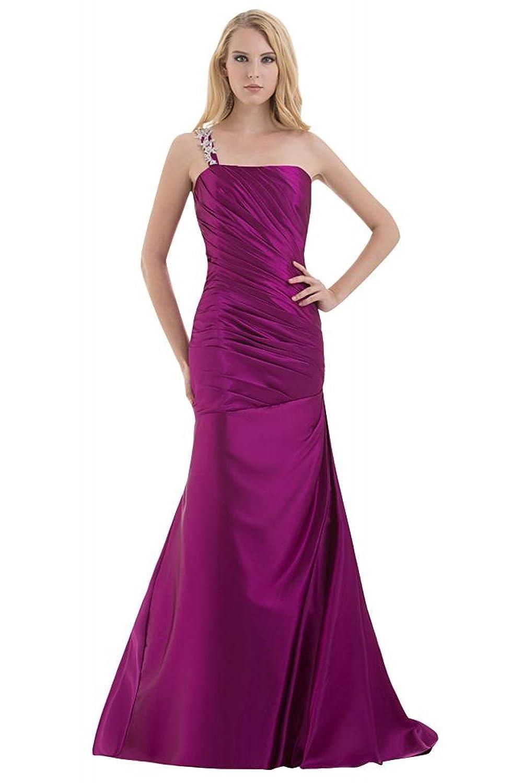 GEORGE BRIDE Velvet High-Neck Split-Front Capped Sleeves Backless Evening Dress