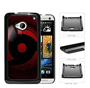 Sharigan Mirror Wheel Eye Hard Plastic Snap On Cell Phone Case HTC One M7