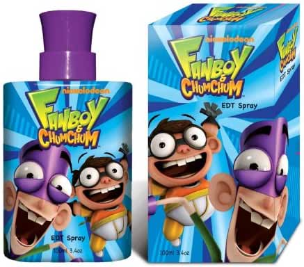 Marmol & Son Kids Fan Boy Chum Chum Perfume, 3.4 Ounce
