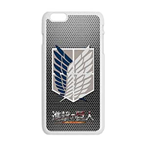 Attack On Titan New Style High Quality Comstom Protective case cover For iPhone 6 Plus