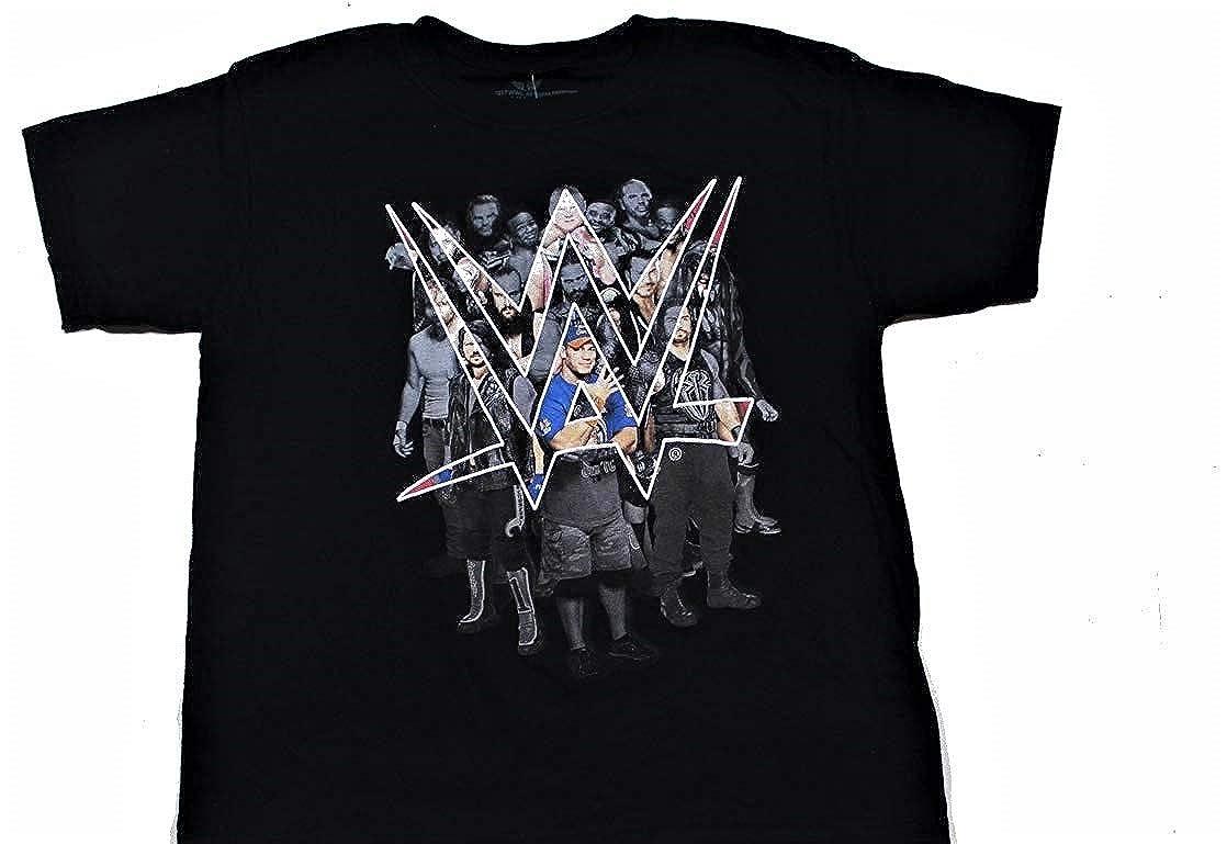 John Cena WWE Roman Reigns Randy Orton /& Brock Lesnar Champions Tee Cotton T-Shirt