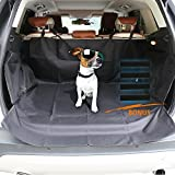 Cargo Cover for SUV EZYKOO Waterproof Scratch-Resistant Quilted Cargo Liner/Cover/Mats Size 41(W)X62(L) Dog Pet Car Cover for SUVs VANs ...