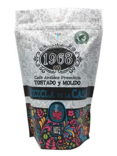 Café 1968, Tostado y Molido, Rainforest, Mezcla de la Casa