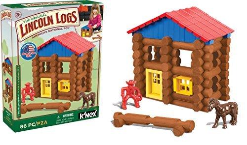 K'NEX Lincoln Logs Wrangler's...