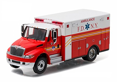 2013-International-Durastar-Fire-Department-of-New-York-FDNY-Ambulance-The-Official-Fire-Department-of-New-York-HD-Trucks-Series-7-164-by-Greenlight-33070-C