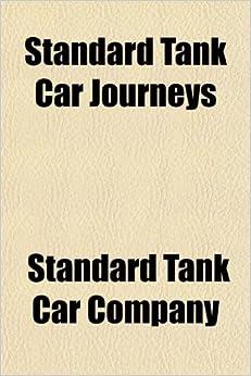 Book Standard Tank Car Journeys