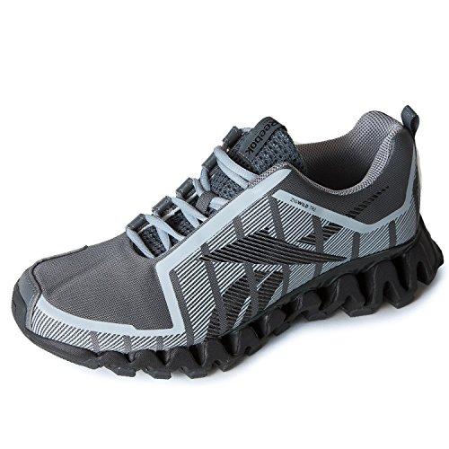 Zapatillas Para Correr Reebok Hombres Zigwild Tr 2-m Aleación / Gris / Negro / Grava