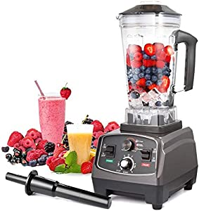 Blender Professional Countertop Blender, 2000W High Speed Smoothie Blender/Mixer for Shakes and Smoothies