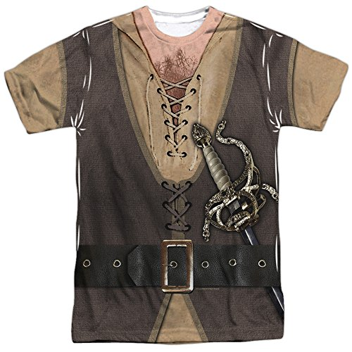 Princess Bride Fantasy Movie Inigo Montoya Costume Adult Front Print T-Shirt