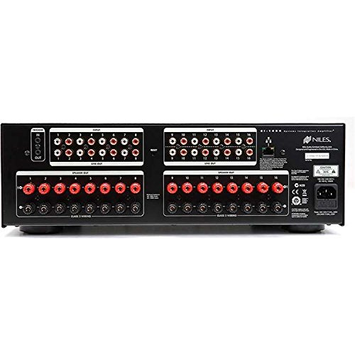 Niles SI-1650 16-Channel Fully-Configurable Power Amplifier (Black) by Niles