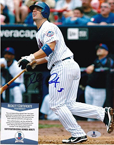 Autographed David Wright Picture - BECKETT 8x10 - Beckett Authentication - Autographed MLB Photos