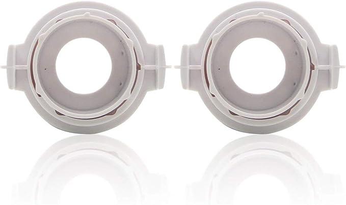 Winpower H7 Hid Xenon Scheinwerferlampen Basisclips Clips Adapter Halter Unterstützung Steckdose Zubehör 2 Stücke Auto