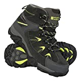 Mountain Warehouse Rapid Kids Boots - Childrens Walking Shoes Lime 5 Child US