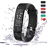 Fitness Tracker HR,Teslasz IP67 Waterproof Fitness Tracker With Heart Rate Monitor Auto-Sleep Monitor 14 Kinds of Training Modes Fitness Tracker 0.96 Inches OLED Display Activity Tracker