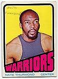 1972/73 Topps Nate Thurmond Card #28 Golden State Warriors