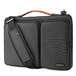 """Tomtoc Original 13-13.5 Inch Laptop Shoulder Bag with CornerArmor Patent, 360° Protective Laptop Bag for 13"""" - 13.3"""" MacBook Air 