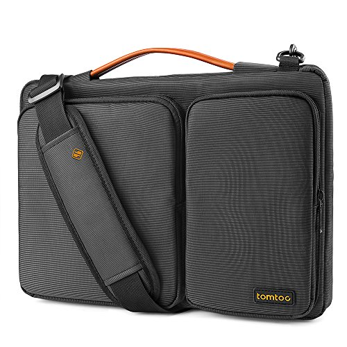 "Tomtoc 14 inch Laptop Shoulder Bag with CornerArmor Protection, Compatible with 14"" Lenovo ThinkPad Acer HP Chromebook 