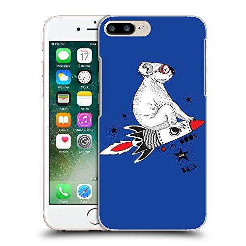 GoGoMobile Coque de Protection TPU Silicone Case pour // Q05240613 Koala volant Bleu // Apple iPhone 7 PLUS