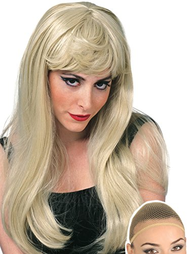 Rubie's Costume Women's Blonde Glamour Wig, and Wig ()