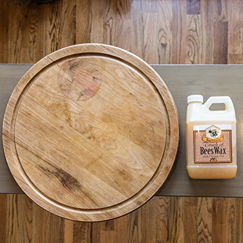 Touch of Beeswax Wood Furniture Polish and Conditioner with Orange Oil. Feeds, Waxes and Preserves Wood Beautifully (64 oz)