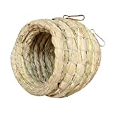 Handmade Grass Nest Creative Birds's Cages Accessory Dove Nest Bird's Nest