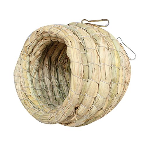 Handmade Grass Nest Creative Birds's Cages Accessory Dove Nest Bird's Nest by Panda Superstore
