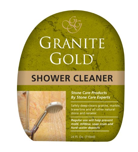 Granite Gold Shower Cleaner Spray Stone Shower Cleaning