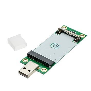Festnight Mini PCI-E a USB2.0 con Ranura para Tarjeta SIM ...