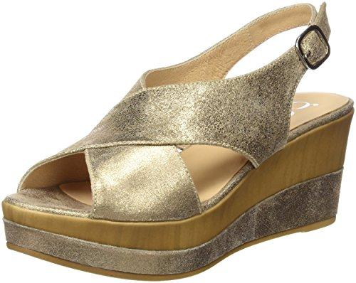 Zapatos verdes de punta abierta formales Gadea para mujer 8bBvY9xs