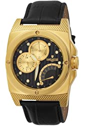 Lancaster Men's  OLA0344YG/NR Kamata Black Dial Watch Model