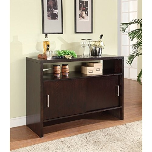 Modus Furniture 2Y2173 Bossa Sideboard, Dark Chocolate
