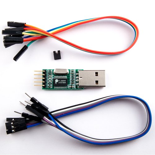 Loopback Connector Serial (NooElec PL2303 USB to Serial (TTL) Module/Adapter with Female and Male Wiring Harnesses & Test Jumper. Compatible with Windows 98 through Windows 7; Mac OS 8 through OS X, Linux and Android!)