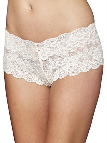 Lacey Boyshorts - Julianna Rae Tresor Lace Boyshorts, Whisper, M
