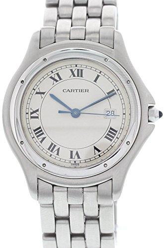 - Cartier Cougar Swiss-Quartz Male Watch 120000R (Certified Pre-Owned)