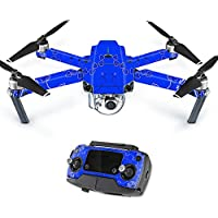 MightySkins Protective Vinyl Skin Decal for DJI Mavic Pro Quadcopter Drone wrap cover sticker skins Blue Bandana