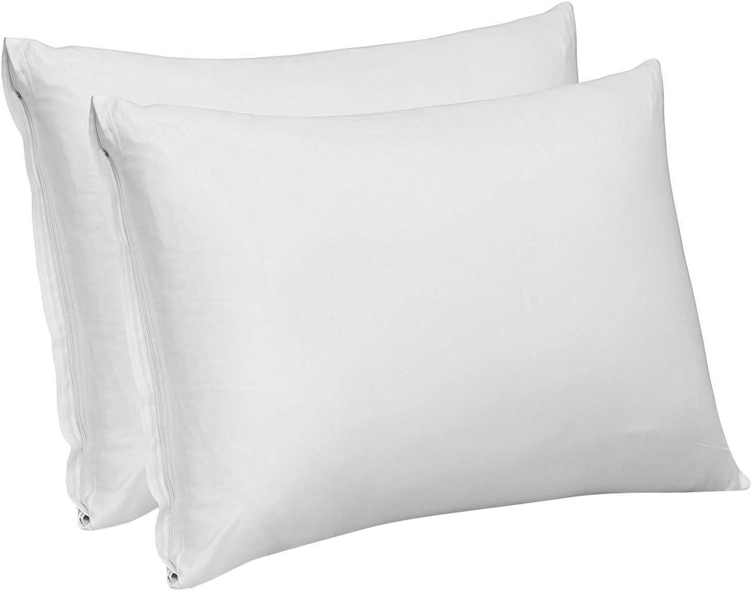 Pillow Protectors with Zip 100