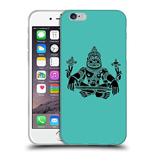 GoGoMobile Coque de Protection TPU Silicone Case pour // Q08120634 Hindou 3 Turquoise // Apple iPhone 7