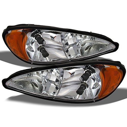 For Pontiac Grand AM Coupe/SedanOE Replacement Headlights Driver/Passenger Head Lamps Pair (Grand Am Headlight Lamp)