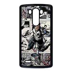 LG G3 Phone Case Black Marvel comic HDS331796